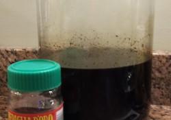 coffee vanilla liqueur with instant espresso and vanilla bean