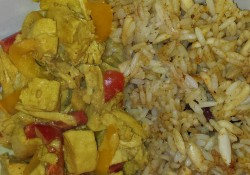 fast and easy chicken curry